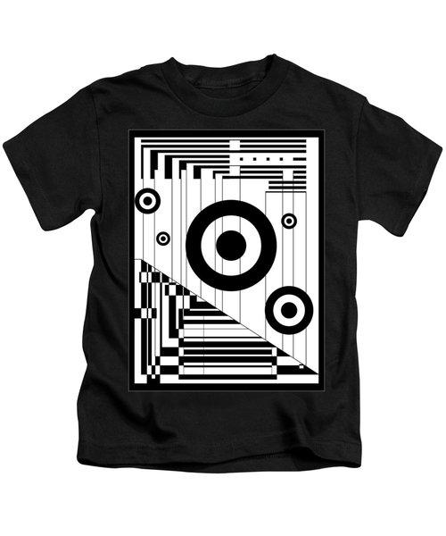 Circular Circles  Kids T-Shirt