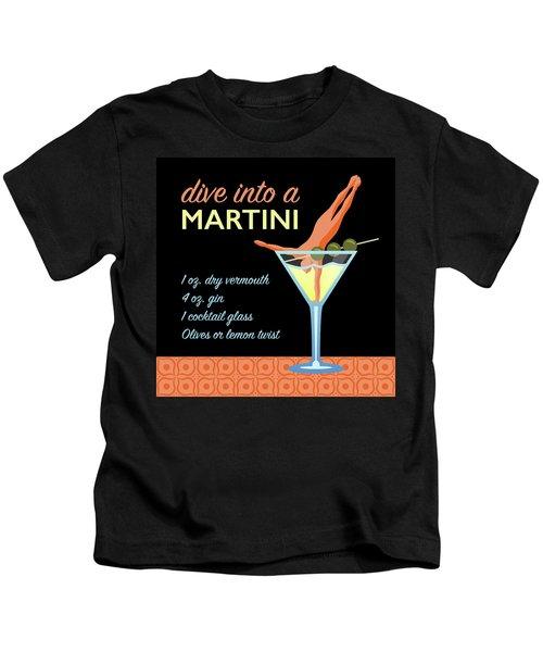Classic Martini Kids T-Shirt