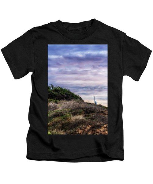Cliffside Watcher Kids T-Shirt