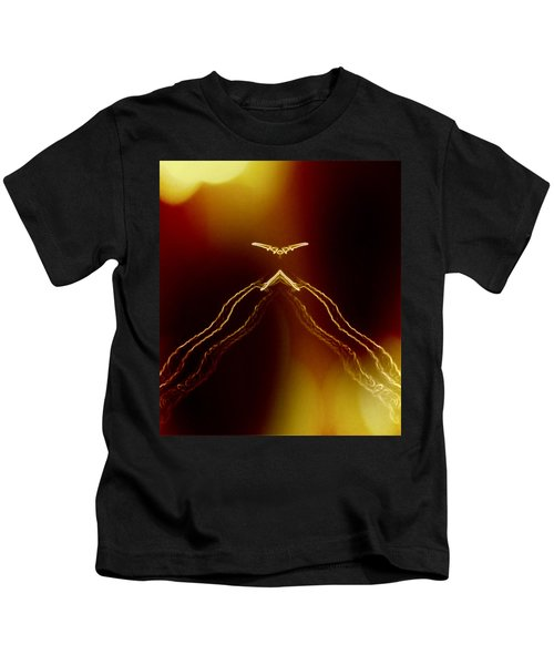 Kids T-Shirt featuring the photograph Cloaking by Judy Kennedy