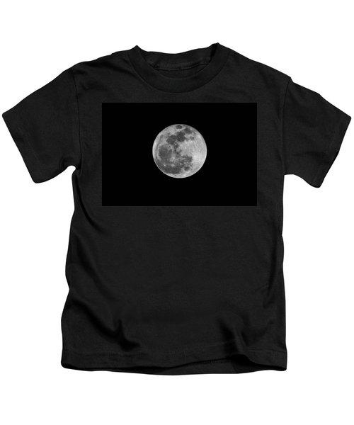 Full Cold Moon Kids T-Shirt