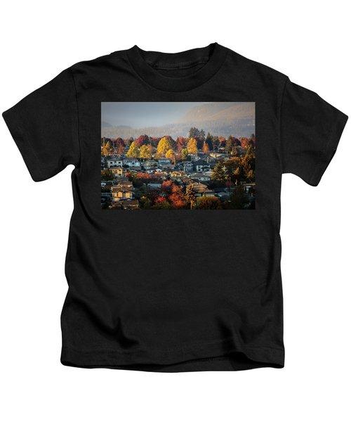 Colours Of Autumn Kids T-Shirt