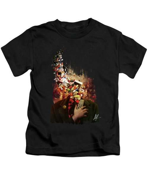 Comfortably Numb Kids T-Shirt
