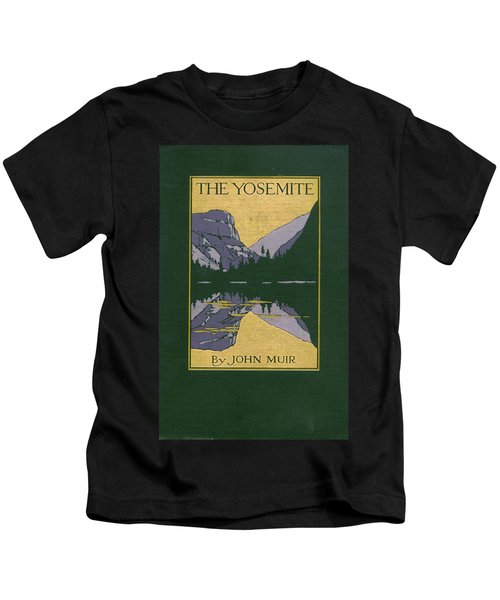 Cover Design For The Yosemite Kids T-Shirt