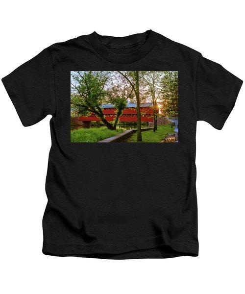 Covered Through Tree Kids T-Shirt