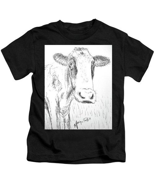 Cow Doodle Kids T-Shirt