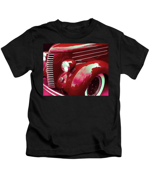 Custom 1936 Ford Nash Grill Kids T-Shirt