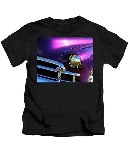 Custom Purple Chevy Kids T-Shirt