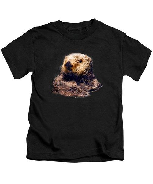 Cute Sea Otter Kids T-Shirt