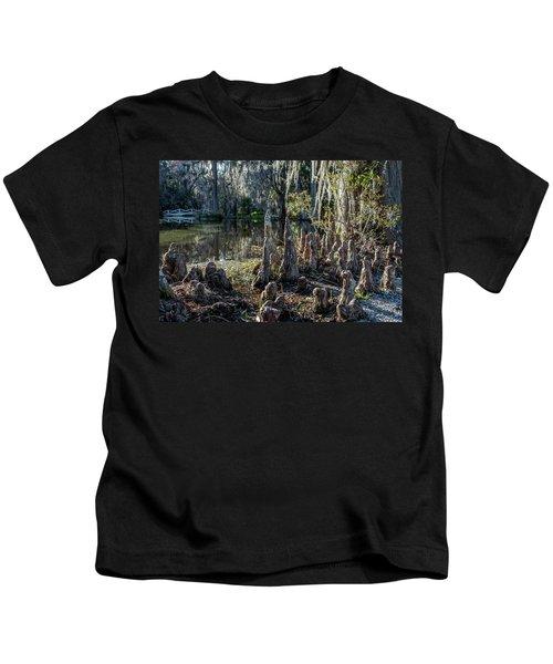 Cypress Pilgrimage Kids T-Shirt