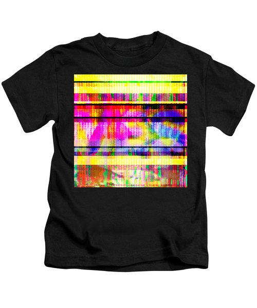 Databending #2 Hidden Messages Kids T-Shirt
