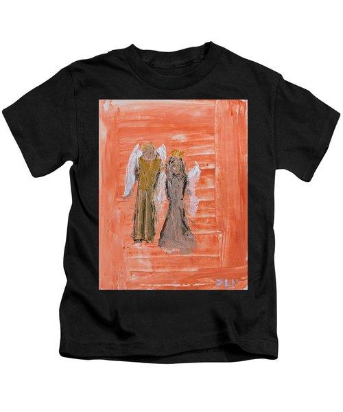 Dating Angels Kids T-Shirt