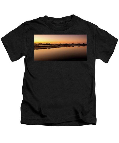 Dawn Light, Ogunquit River Kids T-Shirt