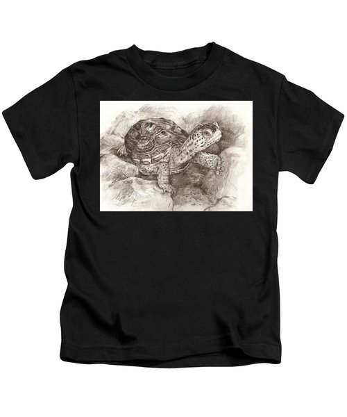 Diamondback Terrapin Kids T-Shirt