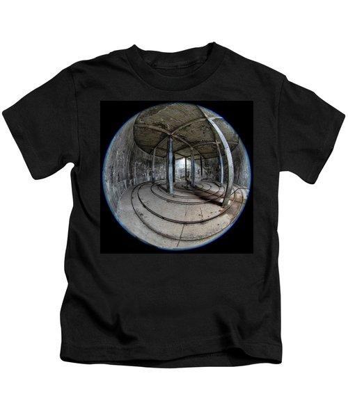 Djupavik Cannery Herring Oil Tank Kids T-Shirt