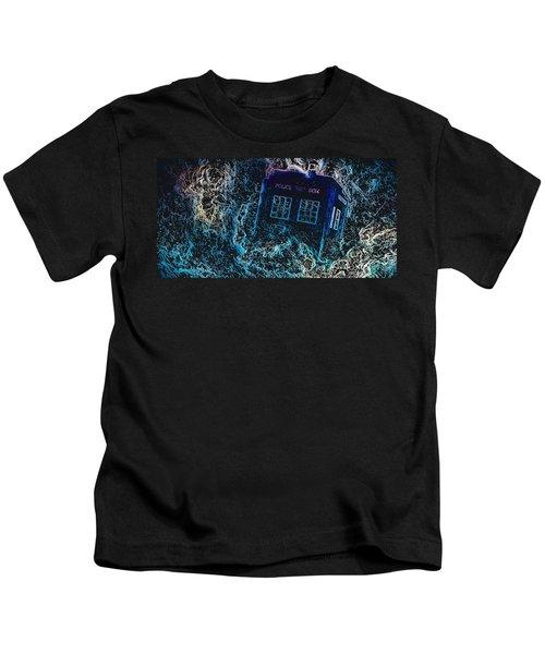 Doctor Who Tardis 3 Kids T-Shirt