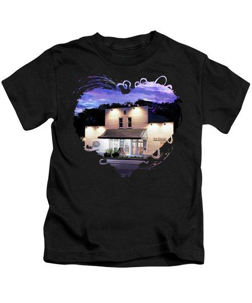 Door County Ice Cream Factory Kids T-Shirt