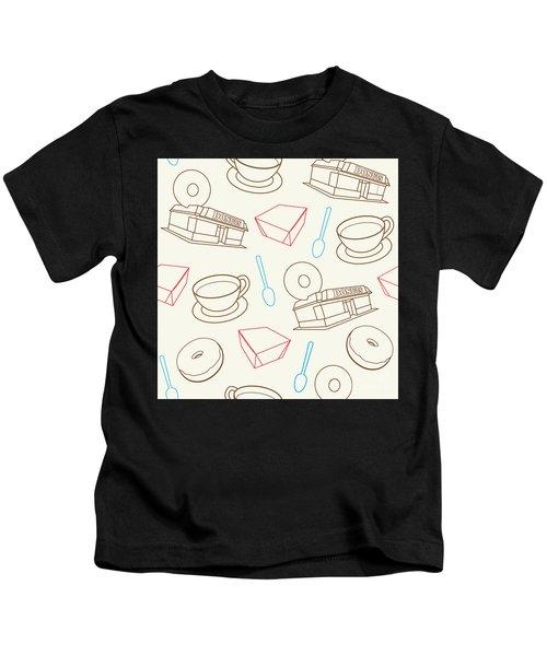 Doughnut_wallpaper_f3 Kids T-Shirt