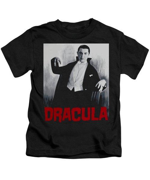 Dracula Vitage Poster Kids T-Shirt