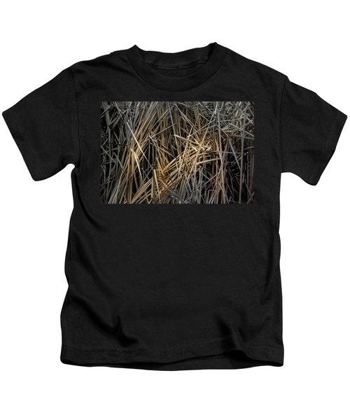 Dried Wild Grass IIi Kids T-Shirt