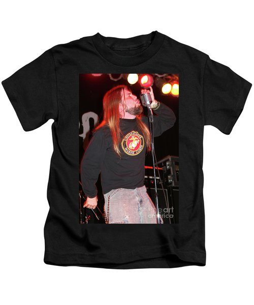 Drowning Pool Ryan Mccombs Kids T-Shirt
