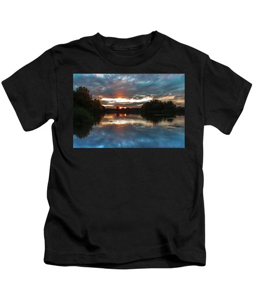 Dusk Aquarelle Kids T-Shirt