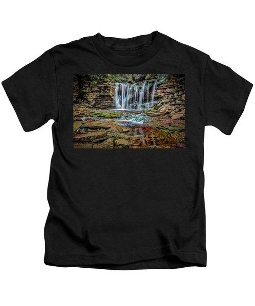 Elakala Falls 1020 Kids T-Shirt
