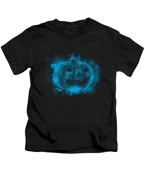 Electric Pumpkin Kids T-Shirt