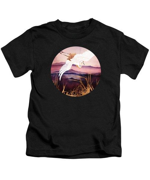 Elegant Flight IIi Kids T-Shirt