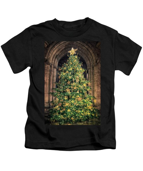 Ely Cathedral Christmas Tree 2018 Kids T-Shirt