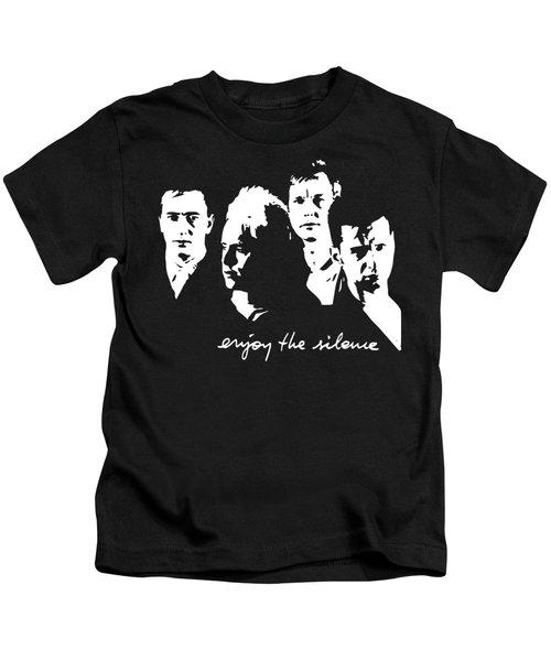 Enjoy The Silence Kids T-Shirt
