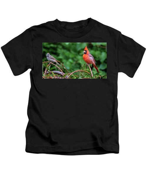Envy - Northern Cardinal Regal Kids T-Shirt