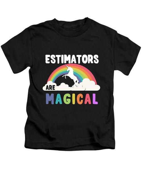 Estimators Are Magical Kids T-Shirt