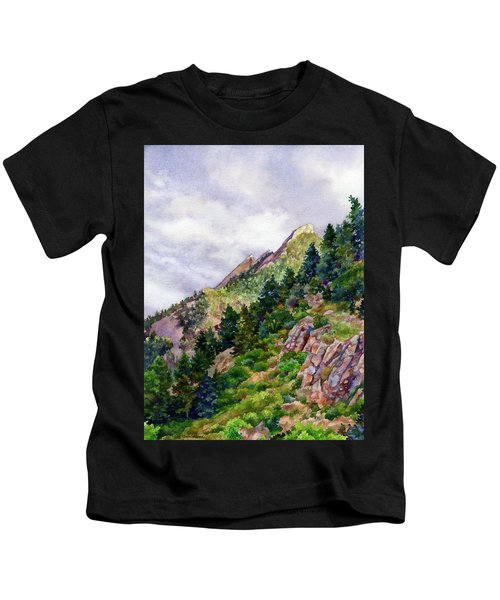 Evening On Flagstaff Kids T-Shirt