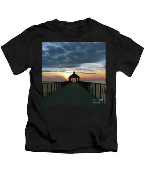 Evening Peace Kids T-Shirt