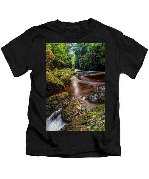 Fairy Glen Gorge Kids T-Shirt