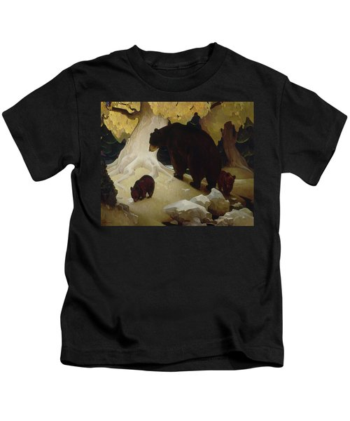Fall In The Foothills, 1933  Kids T-Shirt