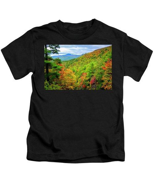 Fall In The Smokies Kids T-Shirt