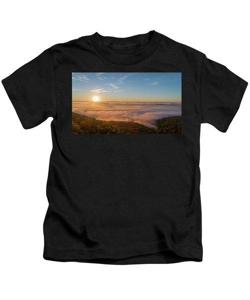 Fall Sunrise Kids T-Shirt