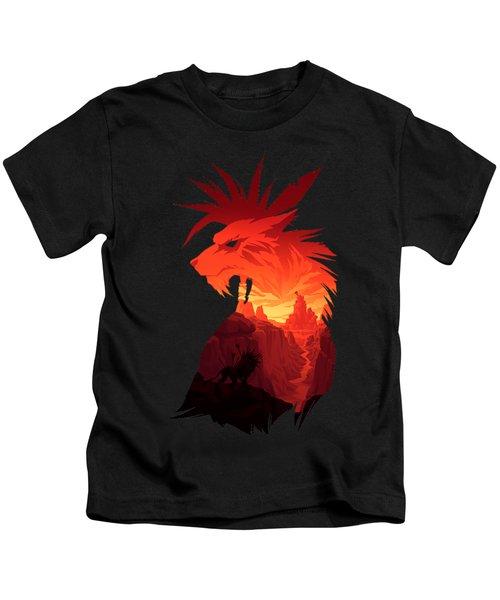 Final Fantasy Red Kids T-Shirt