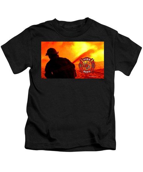 Fire Fighting 6 Kids T-Shirt