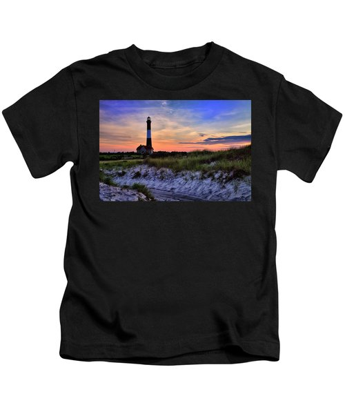 Fire Island Lighthouse Kids T-Shirt