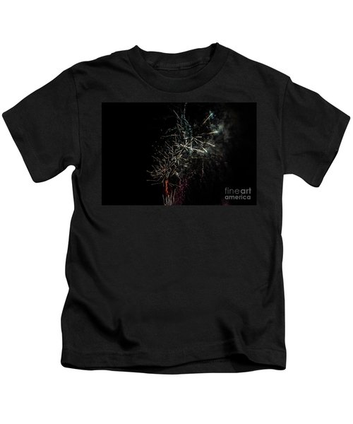 Fireworks Display With Multiple Colors Kids T-Shirt