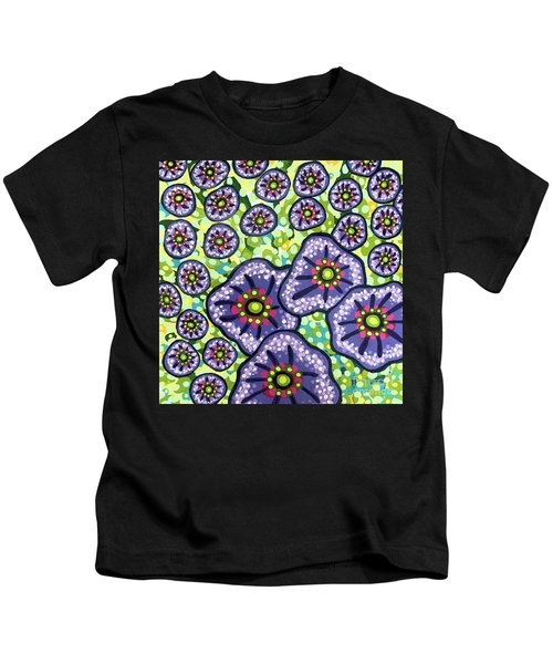 Floral Whimsy 4 Kids T-Shirt