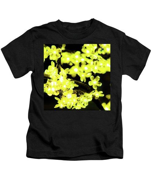 Flower Lights 6 Kids T-Shirt