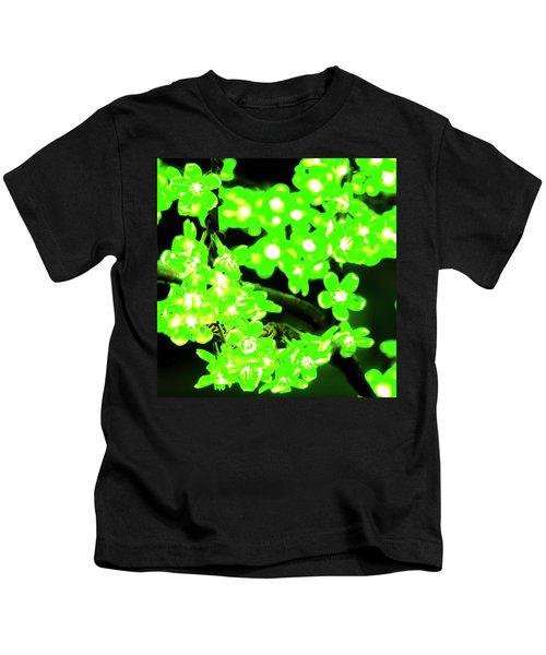 Flower Lights 7 Kids T-Shirt