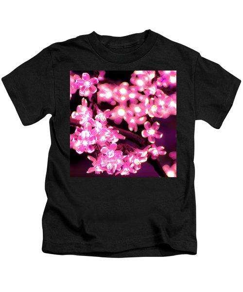 Flower Lights 9 Kids T-Shirt