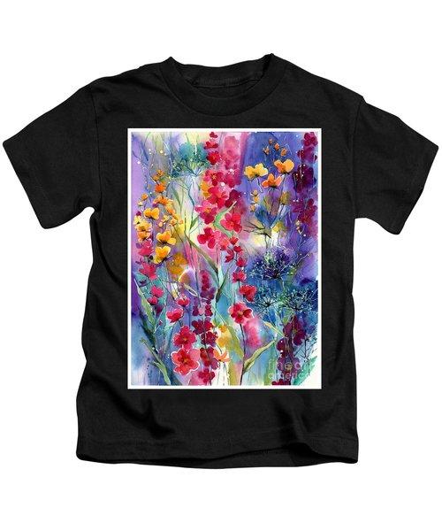 Flowers Fairy Tale Kids T-Shirt