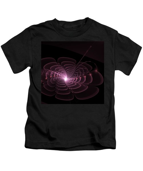 Fractal Rose Kids T-Shirt