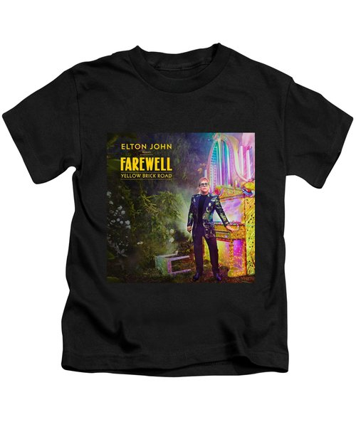 Frame Print Elton John Farewell Yellow Brick Road 2019 Iy01 Kids T-Shirt